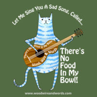 There's No Food In My Bowl - Adult 2 - Let Me Sing You A Song, Called... Design