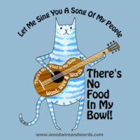 There's No Food In My Bowl - Adult 3B - Let Me Sing You A Song Of My People Design