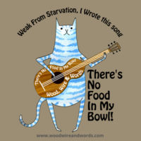 There's No Food In My Bowl - Adult 4B - Weak From Starvation, I Wrote This Song Design