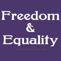 Freedom & Equality - Adult Design