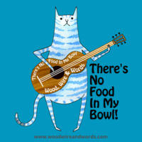 There's No Food In My Bowl - Adult 6B Design