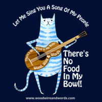 There's No Food In My Bowl - Adult 3 - Let Me Sing You A Song Of My People Design