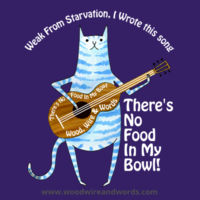 There's No Food In My Bowl - Child 4 - Weak From Starvation, I Wrote This Song Design