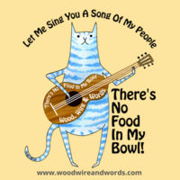 There's No Food In My Bowl - Child 3B - Let Me Sing You A Song Of My People Design