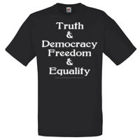 Truth & Democracy, Freedom & Equality - Adult Thumbnail